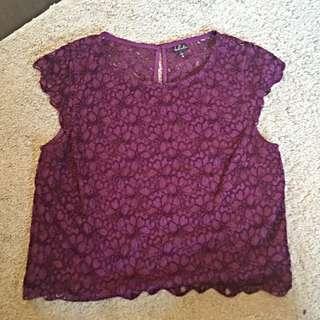 Talula Lace Shirt