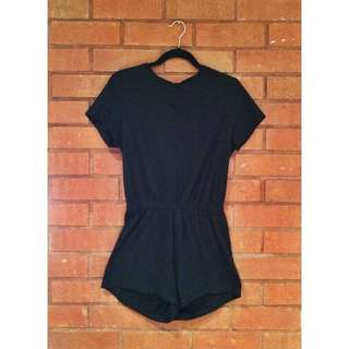AMERICAN APPAREL Black Romper