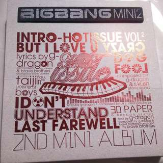 Big Bang Mini 2 Intro Hot Issue Volume 2