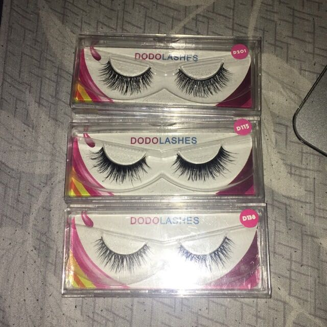 100% Mink False Eyelashes