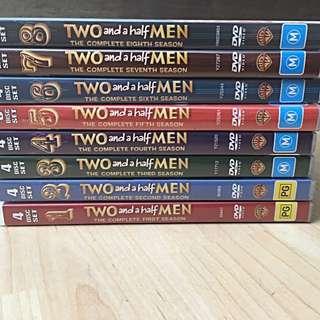 2 And A Half Men Seasons 1-8