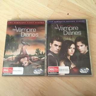 The Vampire Diaries Season 1 &2