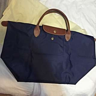 Small Navy LongChamp Pilage