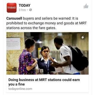 Becareful Carousell Buyers n sellers