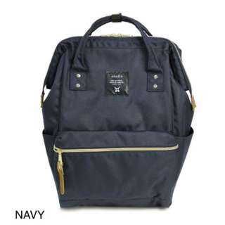 Anello Navy Blue Backpack
