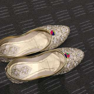 Traditional Indian Punjabi shoes
