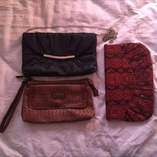 Assorted Bags/clutches
