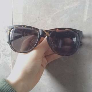 H&M Sunglasses With Leopard Print Detail