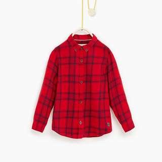 Zara Check Shirt