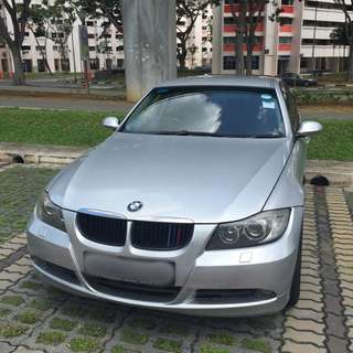 BMW320iXL (Silver)