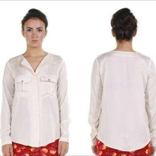 Cream Safari Shirt
