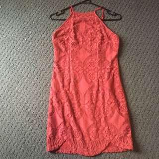 Peppermayo Burgundy Size 10 Dress