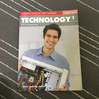 Oxford English For Careers- Technology