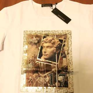 Versace 黑標 短T