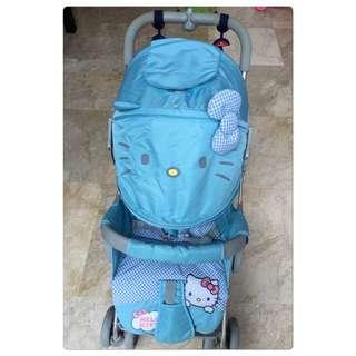 Hellokitty Baby Stroller