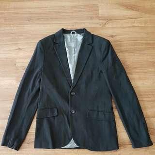 Zara Smart Casual Black Blazer