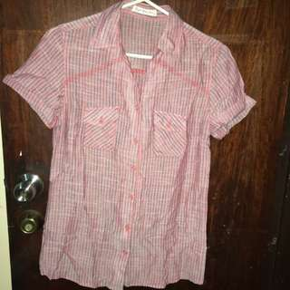 Rough Rider Jeans Buttondown Polo (Medium)