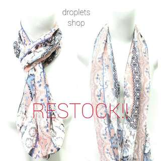 Droplets Scarf (Most Favorite Item)