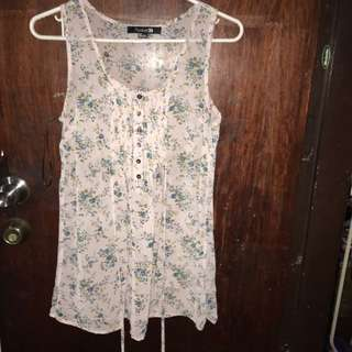 Authentic Forever21 Sleeveless Top (S-M)