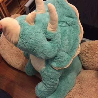HUGE Rhino Plushie