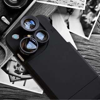 四合一iPhone旋轉鏡頭手機殼