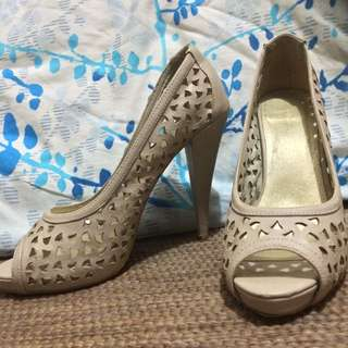 Target Cut-Out Heels Size 8
