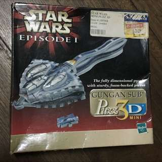 Starwars Episode 1 Puzzle (Collectible)