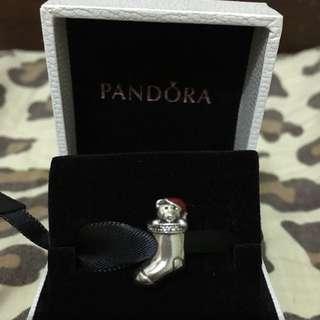 Pandora聖誕節狗狗襪子2015年款