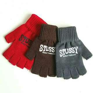 Stussy Burly Arch Bboy Biker Gloves