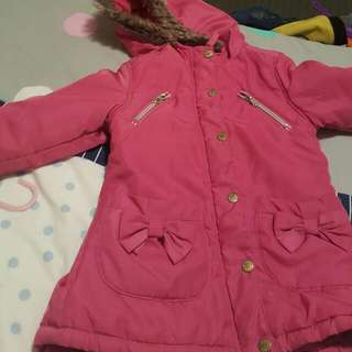 Pink Girls Jacket