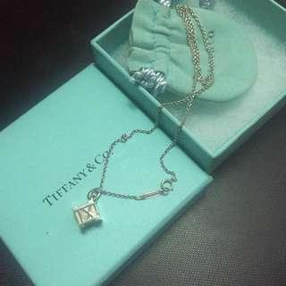 Tiffany classic羅馬數字 925 sliver necklance