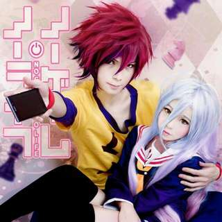Shiro No Game No Life And Her Partner Cosplay Costume