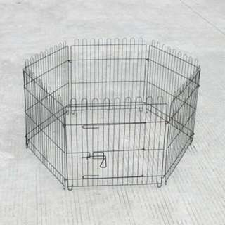 "24"" 6-Panel Pet Exercise Play Pen"