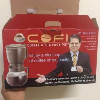 咖啡機、沖茶器 兩用組
