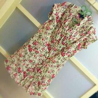 NET 4號 旗袍感長版襯衫(有腰身)
