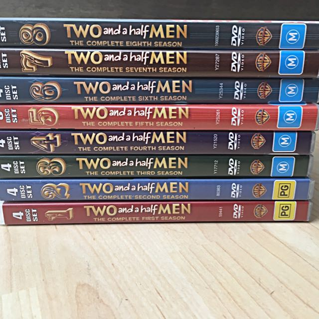 2 And A Half Men Seasons 1-8