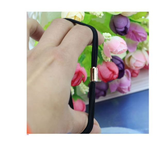 韓國時尚百搭多層 五根基礎耐用 橡皮筋