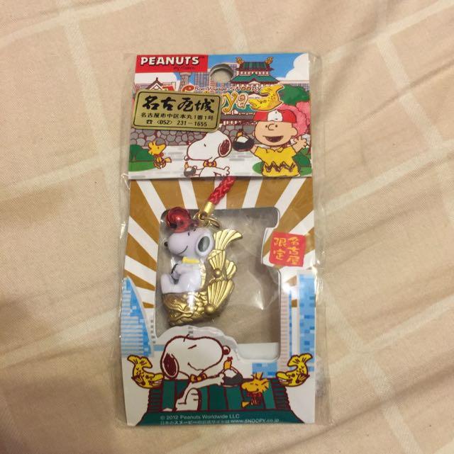 日本帶回 名古屋限定 史努比snoopy 吊飾