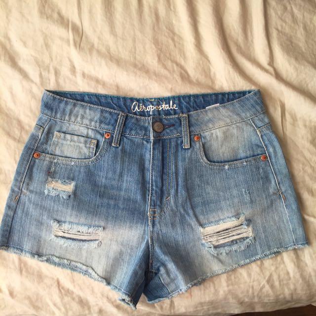 Aeropostale High Waisted Shorts