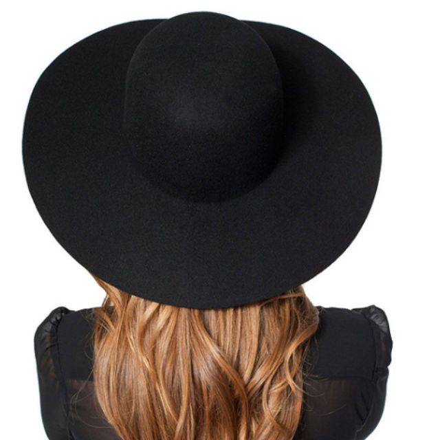 American Apparel Wool Floppy Hat Biscotti