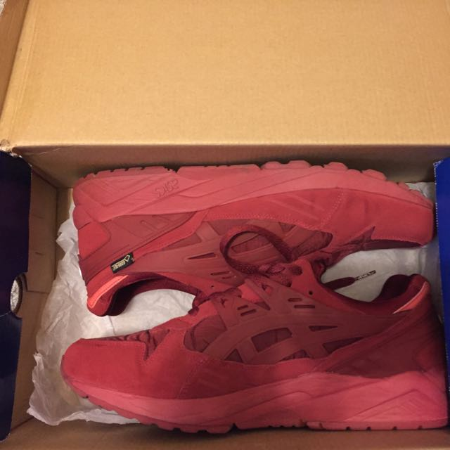 Asics Gel Kayano Trainers Burgundy