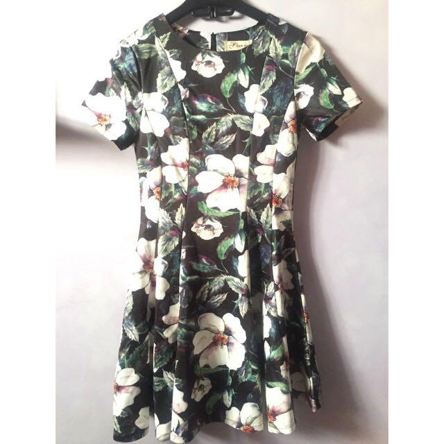 Black Dress Floral