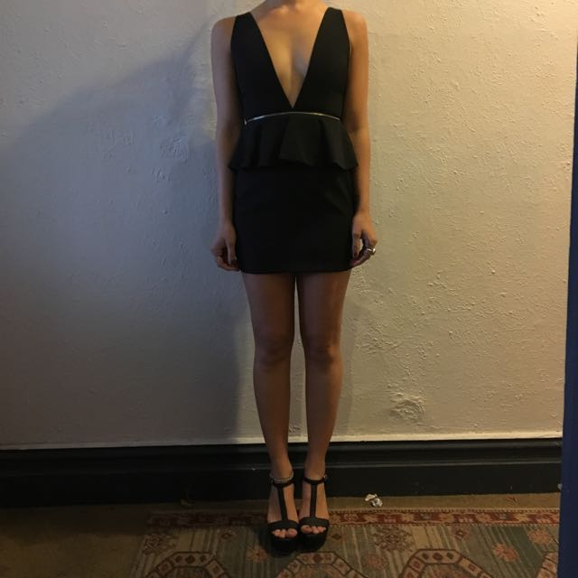 Black Party Cocktail Dress