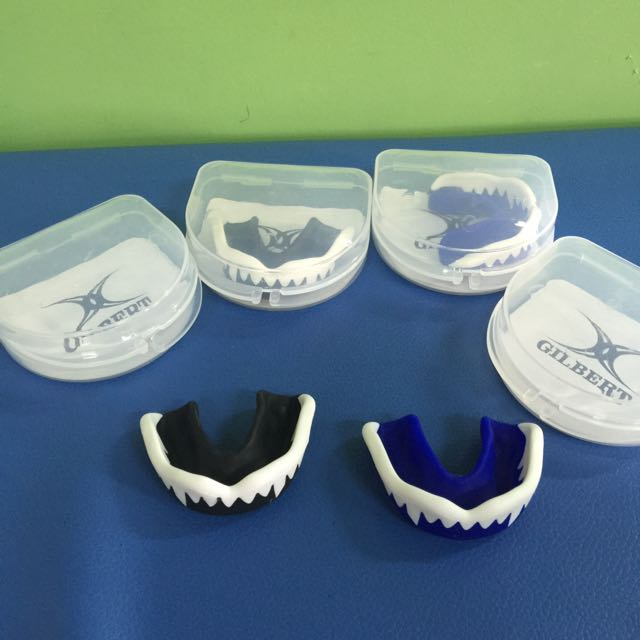 BNIP Gilbert Viper Mouth Guard ( Black / Blue )