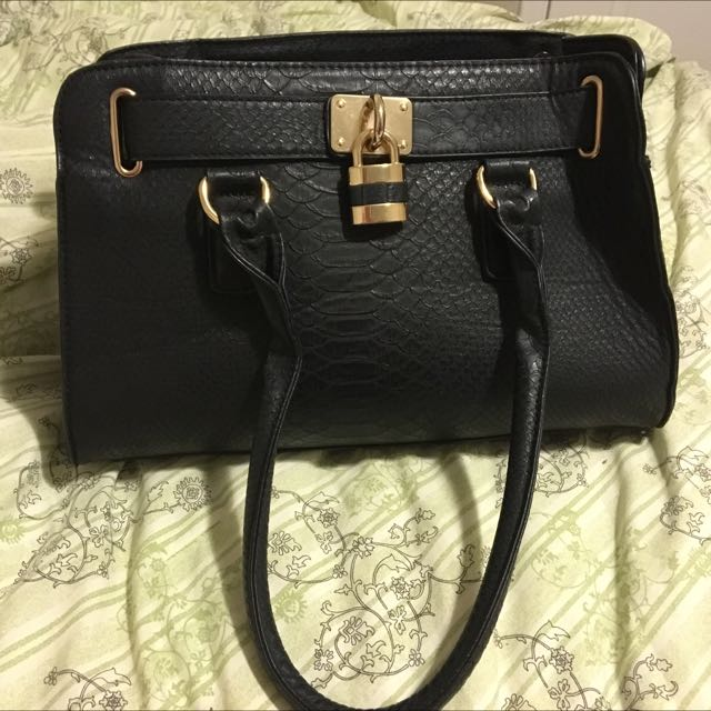 Call It Spring Black Purse