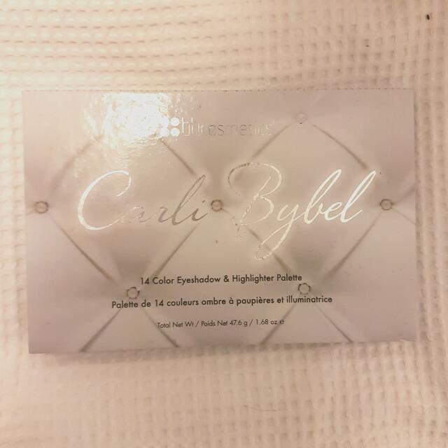 Carli Bybel Eyeshadow and Highlighting Palette