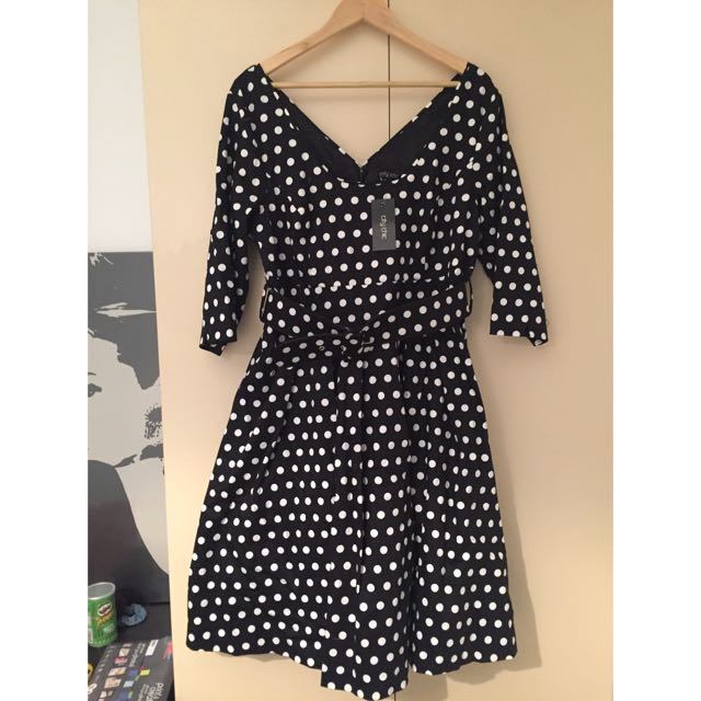 *PRICE DROP* CITY CHIC Dotty Dress