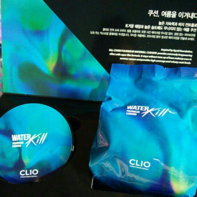 CLIO 夏季限量夢幻水藍水感氣墊粉底(蕊芯)