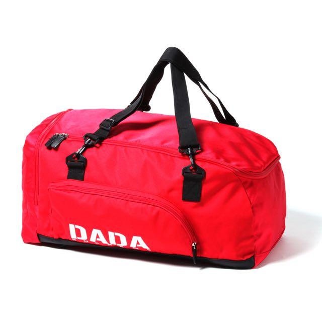 DADA BACKPACK  DAB5F010-RBG 圓筒 大容量 手提包 紅