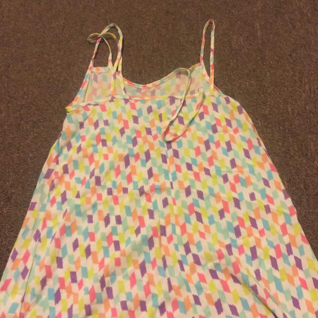 Double Strap Beach Dress